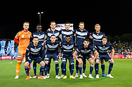 SYDNEY, AUSTRALIA - MAY 12: Melbourne Victory team photo at the Elimination Final of the Hyundai A-League Final Series soccer between Sydney FC and Melbourne Victory on May 12, 2019 at Netstrata Jubilee Stadium in Sydney, Australia. (Photo by Speed Media/Icon Sportswire)
