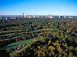 Stock photo of the Galleria area and golf course