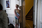 AGLOE BASSENS, The Multiple Store print launch. st. Barnabus. Soho Sq. London. 20 April 2009.<br /> AGLOE BASSENS, The Multiple Store print launch. st. Barnabus. Soho Sq. London. 20 April 2009.  *** Local Caption *** -DO NOT ARCHIVE-© Copyright Photograph by Dafydd Jones. 248 Clapham Rd. London SW9 0PZ. Tel 0207 820 0771. www.dafjones.com.