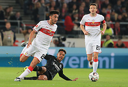 02.11.2018, 1. BL, VfB Stuttgart vs Eintracht Frankfurt, Mercedes Benz Arena Stuttgart, Fussball, Sport, im Bild:..Nicolas Gonzalez (VFB Stuttgart) vs Jonathan de Guzman (Eintracht Frankfurt)...DFL REGULATIONS PROHIBIT ANY USE OF PHOTOGRAPHS AS IMAGE SEQUENCES AND / OR QUASI VIDEO...Copyright: Philippe Ruiz..Tel: 089 745 82 22.Handy: 0177 29 39 408.e-Mail: philippe_ruiz@gmx.de. (Credit Image: © Philippe Ruiz/Xinhua via ZUMA Wire)