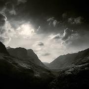 Ossian's cradle, pass of Glencoe.