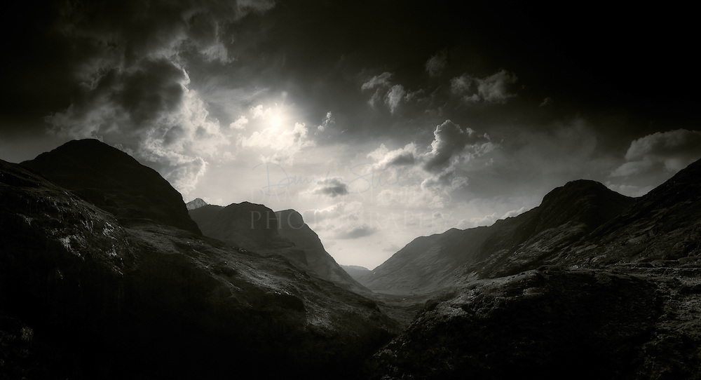 Ossian's cradle, pass of Glencoe.