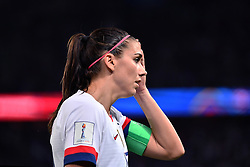 June 29, 2019 - Paris, ile de france, France - Alex Morgan (USA) during the quarter-final between FRANCE vs USA in the 2019 women's football World cup at Parc des Princes in Paris, on the 28 June 2019. (Credit Image: © Julien Mattia/NurPhoto via ZUMA Press)
