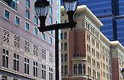 Exterior of restored Reading Station, Marriot Hotel, Market Street, Philadelphia, PA
