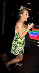 DAVINA HARBORD at the launch party of the new Embargo 59 nightclub at 533 Kings Road, London on 25th June 2009.