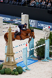 STAUT Kevin (FRA), Silver Deux de Virton HDC<br /> Paris - FEI World Cup Finals 2018<br /> Longines FEI World Cup Jumping Final II<br /> www.sportfotos-lafrentz.de/Stefan Lafrentz<br /> 13. April 2018