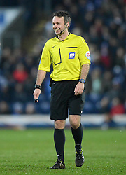 Referee Paul Tierney looks on - Photo mandatory by-line: Richard Martin-Roberts/JMP - Mobile: 07966 386802 - 11/03/2015 - SPORT - Football - Blackburn - Ewood Park - Blackburn Rovers v Bolton Wanderers - Sky Bet Championship