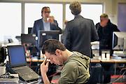 Nederland, Nijmegen, 16-2-2012Op de redactie van de regionale krant Gelderlander daags na de nieuwe bezuinigingsplannen van Wegener.Foto: Flip Franssen/Hollandse Hoogte
