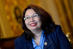 Newcomer Senator-elect Tammy Duckworth from the state of Illinois poses oat the U.S Capitol November 15, 2016 in Washington, DC. Photo by Olivier Douliery/ABACA