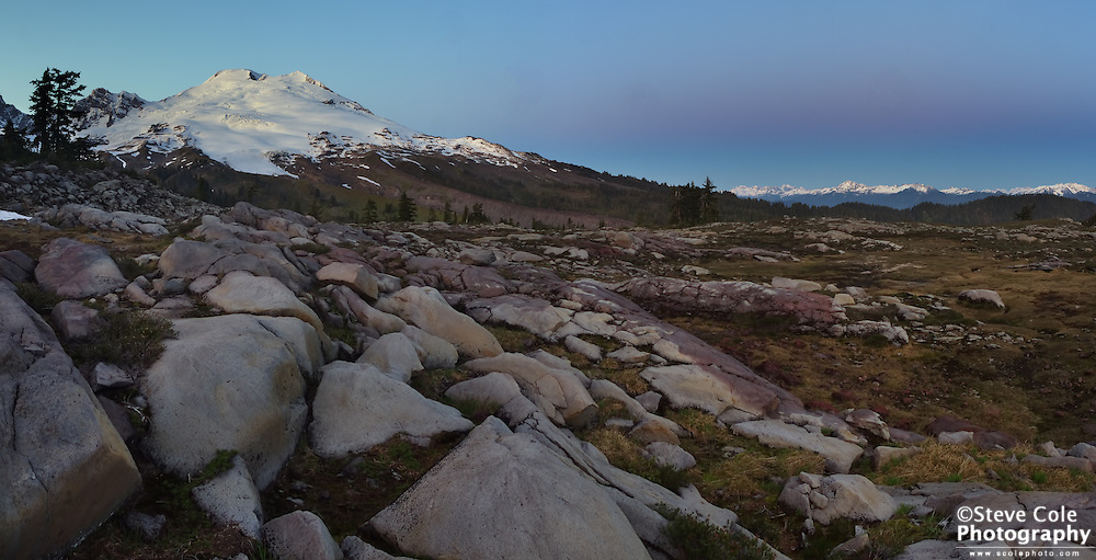 Mount Baker & Earth Shadow - Mount Baker National Recreation Area