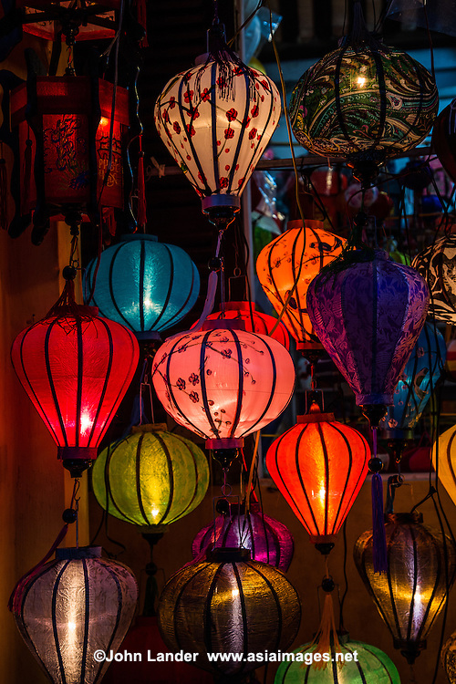 Hoi An Silk Lamps - Hoi An is well known throughout Asia for its hand made crafts, particularly silk lamps and lanterns.  Other specialties include tailor made clothing and hand carved wooden items.