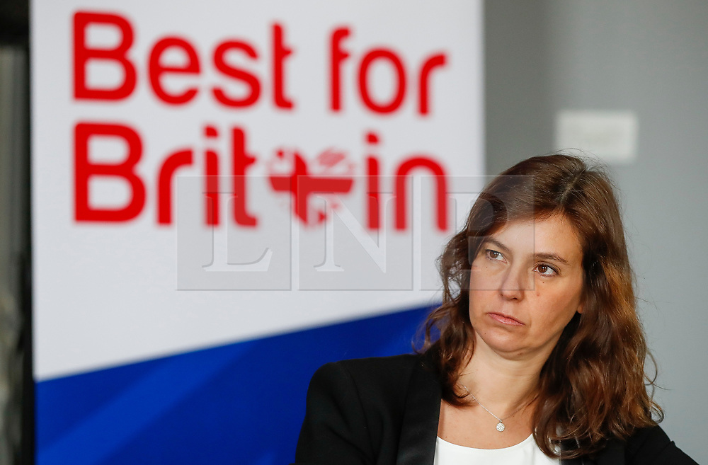 "© Licensed to London News Pictures. 26/04/2017. London, UK. Campaign Director of Best for Britain, Eloise Todd,  attends the Launch of the Best for Britain initiative. Mrs Miller's campaign aims to endorse various candidates in the general election who support it's proposal for a ""meaningful"" vote by MPs at the end of the UK's EU Brexit negotiations. Photo credit: Peter Macdiarmid/LNP"