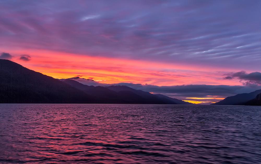 Kaien Island Sunset
