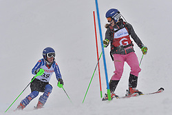 KUBACKA Marek Guide: ZATOVICOVA Maria, B1, SVK at 2018 World Para Alpine Skiing World Cup slalom, Veysonnaz, Switzerland