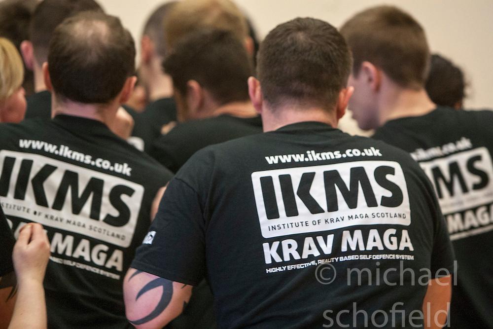 KMG UK Krav Maga Student Testing, Saturday 21st April 2012 at St Modans High School, Stirling..©Michael Schofield..