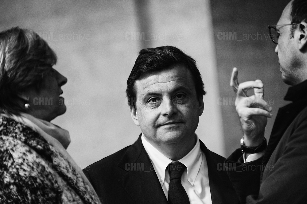 Carlo Calenda at Palazzo Chigi. Rome 5 january 2018. Christian Mantuano / OneShot