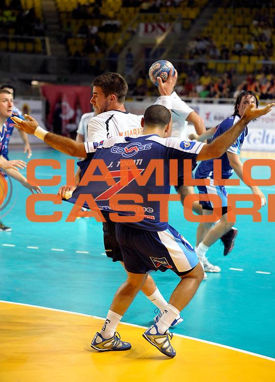 DESCRIZIONE : France Eurotournoi Strasbourg<br /> GIOCATORE : Karabatic Luka <br /> SQUADRA : Montpellier <br /> EVENTO : France Hand France Eurotournoi Strasbourg<br /> GARA : Montpellier Dunkerque<br /> DATA : 20/08/2010<br /> CATEGORIA : Handball Eurotournoi Homme<br /> SPORT : Handball<br /> AUTORE : JF Molliere par Agenzia Ciamillo-Castoria <br /> Galleria : France Hand Action Homme 2010/2011  <br /> Fotonotizia : France Ligue Hand France Eurotournoi Strasbourg Montpellier Dunkerque