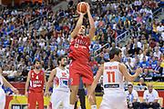 DESCRIZIONE : Berlino Berlin Eurobasket 2015 Group B Spain Serbia <br /> GIOCATORE :  Bogdan Bogdanovic<br /> CATEGORIA :  Tiro sequenza<br /> SQUADRA : Serbia<br /> EVENTO : Eurobasket 2015 Group B <br /> GARA : Spain Serbia <br /> DATA : 05/09/2015 <br /> SPORT : Pallacanestro <br /> AUTORE : Agenzia Ciamillo-Castoria/I.Mancini<br /> Galleria : Eurobasket 2015 <br /> Fotonotizia : Berlino Berlin Eurobasket 2015 Group B Spain Serbia