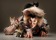 10/04/2010 NEWS: Cats the musical is coming to Perth. Erin James actress plays Olivia in Cats the musical, with Blinky Bill, Bump and Ninja from the Cat Haven.
