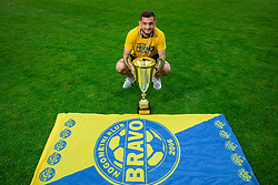 Jurij Spanja during celebration of NK Bravo, winning team in 2nd Slovenian Football League in season 2018/19 after they qualified to Prva Liga, on May 26th, 2019, in Stadium ZAK, Ljubljana, Slovenia. Photo by Vid Ponikvar / Sportida