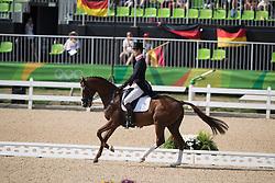 Fox Pitt William, GBR, Chilli Morning<br /> Dressage test evening<br /> Olympic Games Rio 2016<br /> © Hippo Foto - Dirk Caremans<br /> 06/08/16