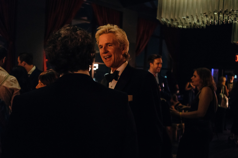 Matthew Modine at the Full Frontal with Samantha Bee's Not the White House Correspondents' Dinner afterparty.