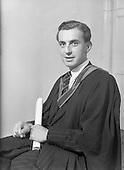 1952 Dr. W.S. Wren Degree U.C.D