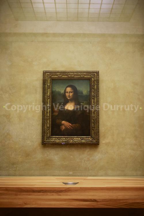 La Joconde ( Mona Lisa ); le Louvre, Paris