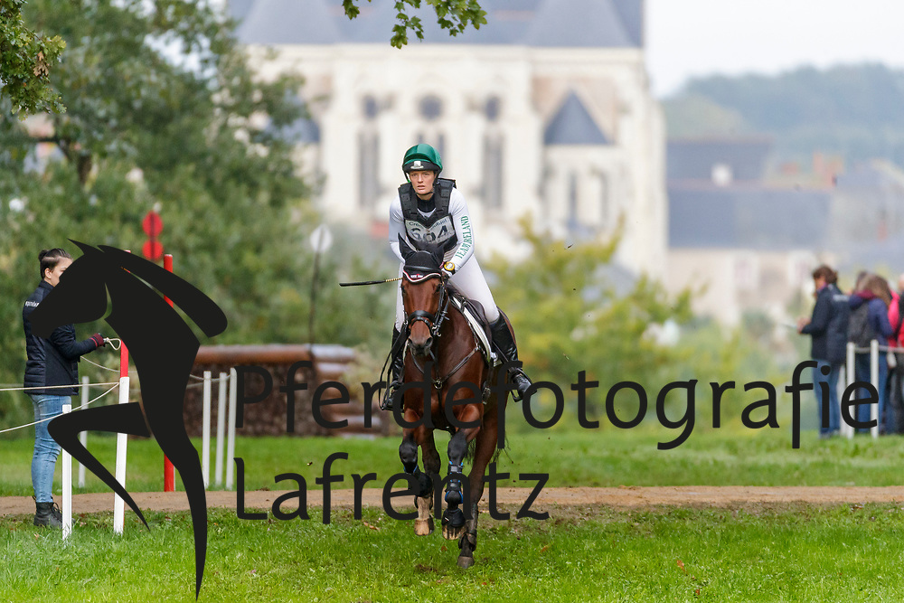 POWER Elizabeth (IRL), SHANNONDALE MARI<br /> Le Lion d'Angers - FEI Eventing World Breeding Championship 2019<br /> Teilprüfung Cross-Country 6 jährige<br /> 19. Oktober 2019<br /> © www.sportfotos-lafrentz.de/Stefan Lafrentz