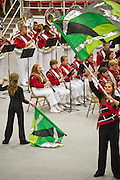 The band extravaganza on Saturday, October 26, 2013, in Fayetteville, Arkansas.