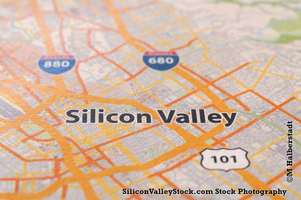 Silicon Valley Map