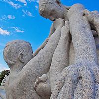 Alberto Carrera, Gustav Vigeland Sculptures, Vigeland Sculpture Park, Frogner Park, Oslo, Norway, Europe<br /> <br /> EDITORIAL USE ONLY
