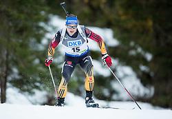 LESSER Erik (GER) competes during Men 10 km Sprint at day 2 of IBU Biathlon World Cup 2014/2015 Pokljuka, on December 19, 2014 in Rudno polje, Pokljuka, Slovenia. Photo by Vid Ponikvar / Sportida