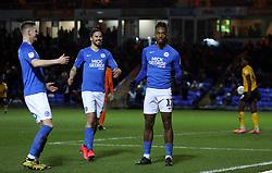 Ivan Toney of Peterborough United celebrates scoring his first goal - Mandatory by-line: Joe Dent/JMP - 11/02/2020 - FOOTBALL - Weston Homes Stadium - Peterborough, England - Peterborough United v Southend United - Sky Bet League One