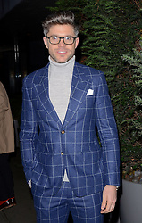 Darren Kennedy attends LCM a/w 2015: Christopher Raeburn and Mens Health Party at The Sanderson Hotel, Berners Street, London on Saturday 10 January 2015
