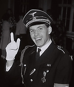 Teenager in Nazi fancy dress, UK 1984