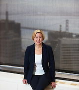 McKinsey & Company - San Francisco, CA- May 24th, 2013. McKinsey & Company is an American management-consulting firm with operations around the world. Susan Colby is an employee at the San Francisco, CA office. Photography by Genaro Vavuris of www.vavuris.com