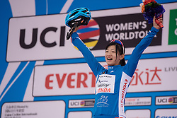 Ting Ying Huang is still the best placed Asian rider - Tour of Chongming Island 2016 - Stage 2. A 113km road race on Chongming Island, China on May 7th 2016.
