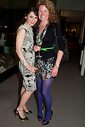 LARA BOHINC; ERIN MORRIS;;, Outset dinner 2011.  Organised by Yana Peel supported by Swarovskito raise funds for the V+A to starts its contemporary design collection. V & A. London. 23 March 2011. -DO NOT ARCHIVE-© Copyright Photograph by Dafydd Jones. 248 Clapham Rd. London SW9 0PZ. Tel 0207 820 0771. www.dafjones.com.