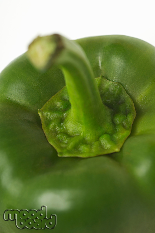 Green bell pepper, close-up