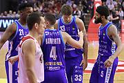 Delusione Sassari, GRISSIN BON REGGIO EMILIA vs BANCO DI SARDEGNA SASSARI, Campionato Lega Basket Serie A 2018/2019, PalaBigi 7 ottobre 2018 - FOTO: Bertani/Ciamillo