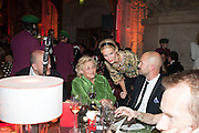 DAME VIVIEN DUFFIELD; POPPY DELEVIGNE, The Secret Winter Gala in aid of Save the Children and sponsored by Bulgari. Guildhall. London. 26 November 2013