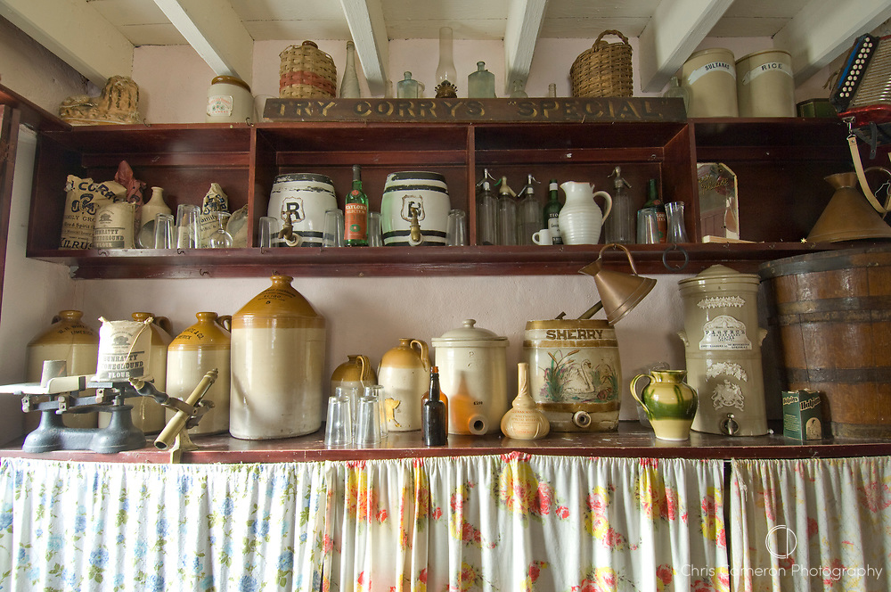Store at Bunratty Castle, County Clare, Ireland.