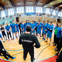 20151223: SLO, Handball - Practice session of Slovenian National team