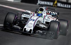 May 27, 2017 - Monte-Carlo, Monaco - Felipe Massa of Brazil and Williams Martini Racing driver goes during the qualification on Formula 1 Grand Prix de Monaco on May 27, 2017 in Monte Carlo, Monaco. (Credit Image: © Robert Szaniszlo/NurPhoto via ZUMA Press)