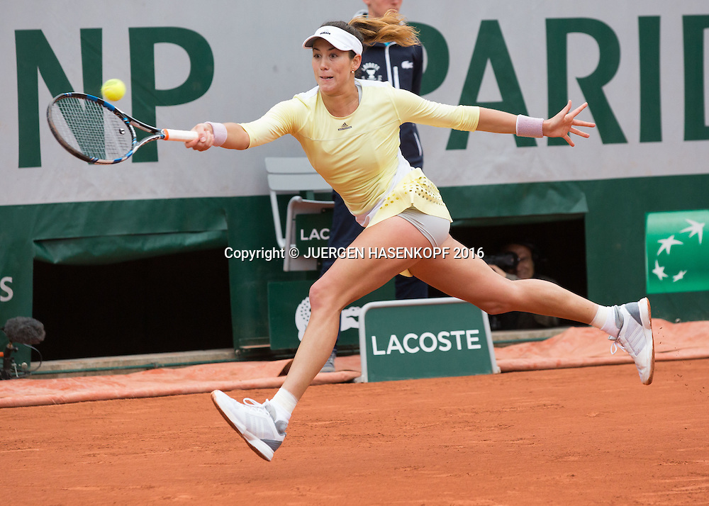 Garbine Muguruza (ESP)<br /> <br /> Tennis - French Open 2016 - Grand Slam ITF / ATP / WTA -  Roland Garros - Paris -  - France  - 3 June 2016.