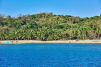 ginto islands beaches between El nido and Coron in Palawan Philippines