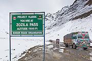 ZoziLa Pass, Kashmir, Ladakh, India