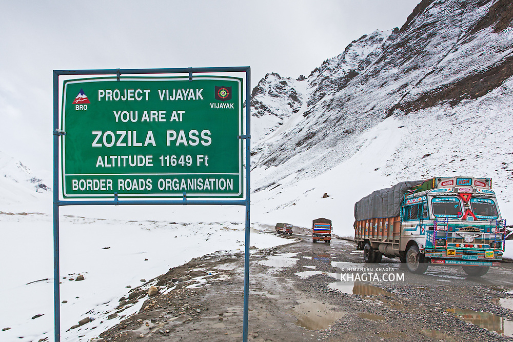 ZoziLa Pass, Kashmir, Ladakh, India