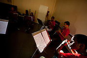 Vitoria_ES, Brasil...Projeto Vale Musica, orquestra de musica que tem o apoio da CVRD (Companhia Vale do Rio Doce)...Vale Musica Project, an orchestra is maintained by CVRD (Companhia Vale do Rio Doce)...Foto: LEO DRUMOND / NITRO